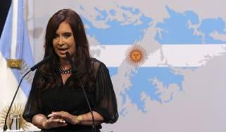 Cristina Kirchner de Fernandez
