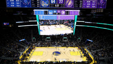 Chase Center is the new home of NBA team the Golden State Warriors