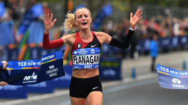 Shalane Flanagan New York Marathon 2017