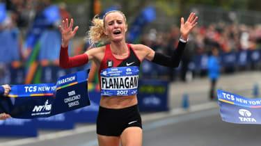Shalane Flanagan New York Marathon 2017