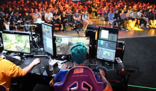 The 2018 TwitchCon esports event in California