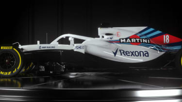Williams Martini Racing FW41 car launch F1