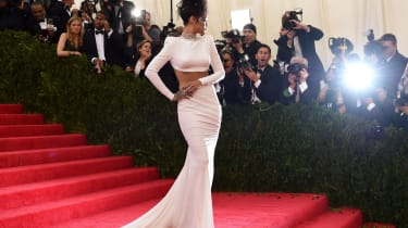 Rihanna at the Costume Institute Benefit at the Metropolitan Museum of Art in New York