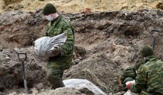 Belarus mass grave