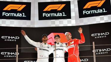 New F1 logo Abu Dhabi Grand Prix