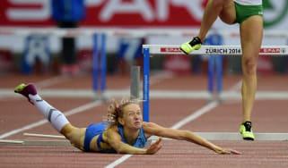 Ukraine's Hanna Ryzhykova
