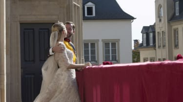 Prince Guillaume of Luxembourg and Princess Stephanie