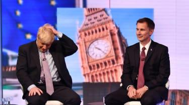 Jeremy Hunt, Boris Johnson