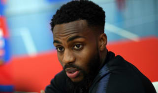 Tottenham left-back Danny Rose made his England debut against Germany in 2016