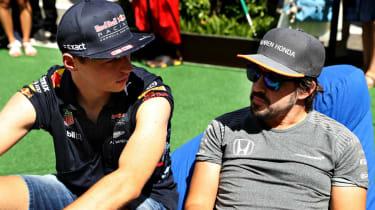 F1 Max Verstappen Red Bull Fernando Alonso
