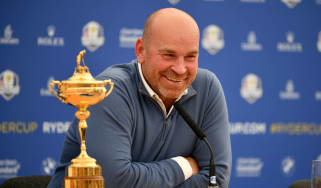 Thomas Bjorn Team Europe Ryder Cup