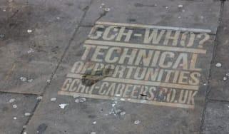 GCHQ graffiti