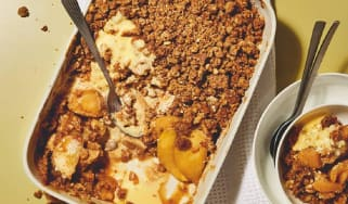 Butterscotch apple crumble recipe taken from Poppy Cooks: The Food You Needby Poppy O'Toole
