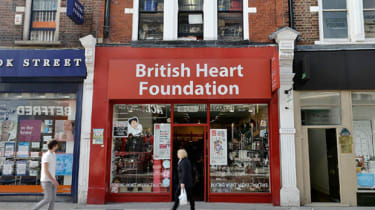 A British charity shop