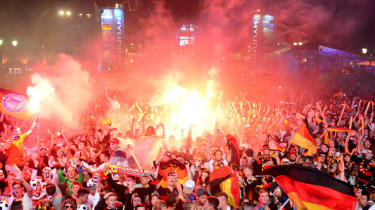 Germany win the World Cup