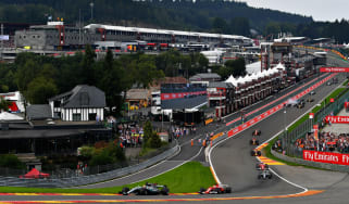 Spa-Francorchamps, home of the Belgian GP, is one of the most popular circuits in Formula 1