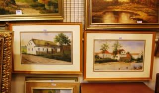 Hitler paintings