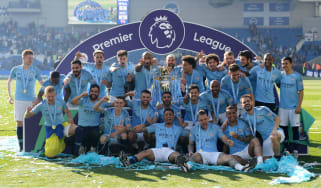 Manchester City have won back-to-back Premier League titles