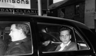 Ian Brady in police custody prior to his court appearance for the Moors murders.