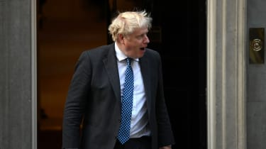 Boris Johnson at No 10