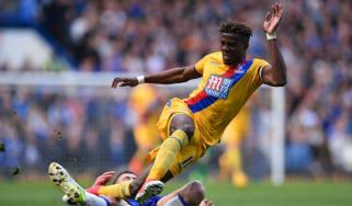 Wilfriend Zaha, Chelsea vs Crystal Palace