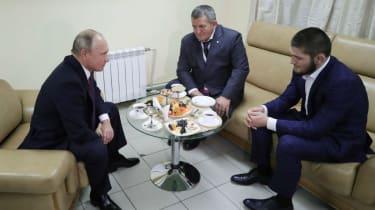 UFC Khabib Nurmagomedov Vladimir Putin
