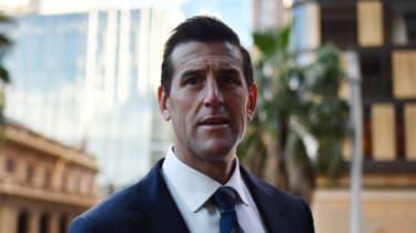 Ben Roberts-Smith arrives in court in Sydney