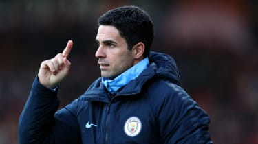 Former Arsenal captain Mikel Arteta is currently assistant coach of Manchester City