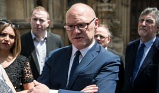 Sinn Fein MP Paul Maskey is one of seven who refuse to take up their seat at Westminster