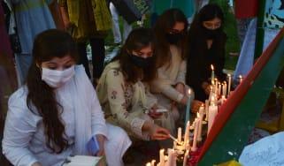 Noor Mukadam vigil