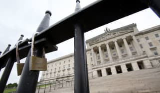 Stormont, the seat of Northern Ireland's devolved assembly