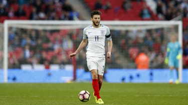 Adam Lallana of England