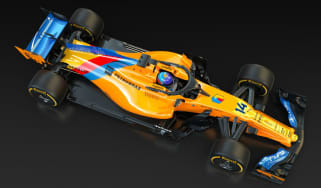 Fernando Alonso's McLaren MCL33 will have a special livery for the Abu Dhabi GP