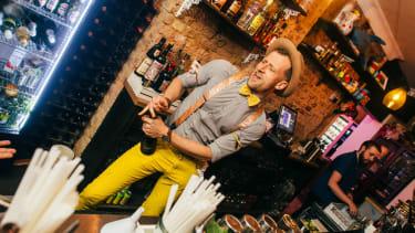 The Little Orange Door - London cocktail bars