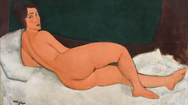 Modigliani's Nu Couché (1917)