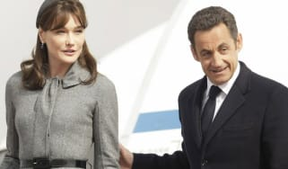 Carla Bruni with Nicolas Sarkozy