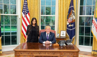 Kim Kardashian West personally lobbied Donald Trump for presidential pardon