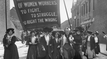 National Federation of Women Workers march in London