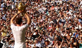 2013 in sport: Andy Murray wins Wimbledon