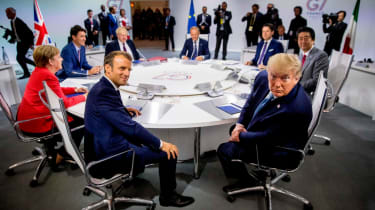 Donald Trump at the G7