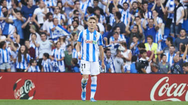 Real Madrid midfielder Martin Odegaard is currently starring on loan at Real Sociedad