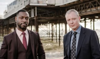 Richie Campbell and John Simm star in Grace