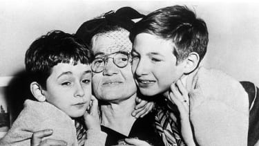 Michael and Robert Meeropol with their grandmother