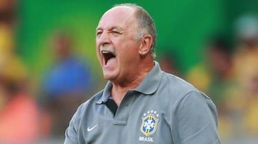 Brazil's head coach Luiz Felipe Scolari