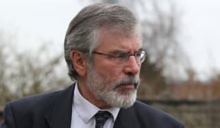 Former Sinn Fein President Gerry Adams