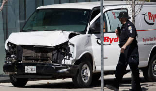 10 people have been killed in a van rampage in Toronto