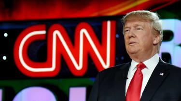 Trump, CNN, Media, Fake News