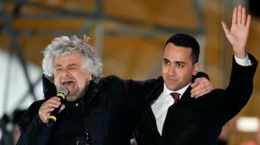 Five Star Movement, Grillo, Maio