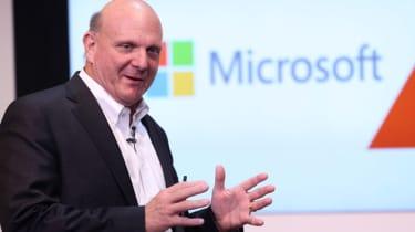 Microsoft's former CEO and chairman Steve Ballmer