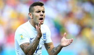 Jack Wilshere during England's final Group D game against Costa Rica